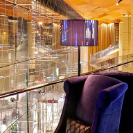 Curved glass balustrades for Kempinski hotel
