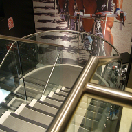 Ion Glass Balustrades super for Sigma Sports