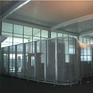 Architectural mesh for Berth Cruise Terminal