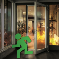 Gilgen automatic door operator now fire door approved
