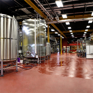 Antimicrobial Urethane Flooring at Florida Beer Company
