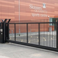 Cantilevered Sliding Gates for Skinners' Academy