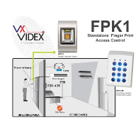 Videx introduce biometric access control