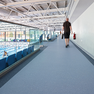 New Polysafe Verona PUR makes a splash at Olympic venue