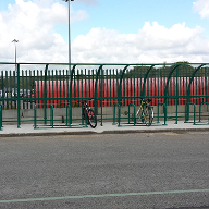 Cycle Shelter for Vauxhall Motors Plant