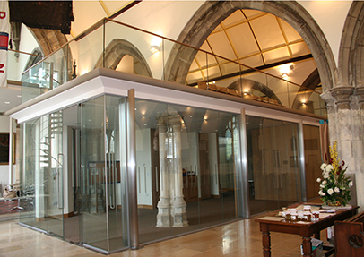 Ion Glass brings church into modern era