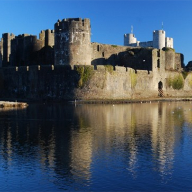Kensa Compact heat pump for Caerphilly Castle