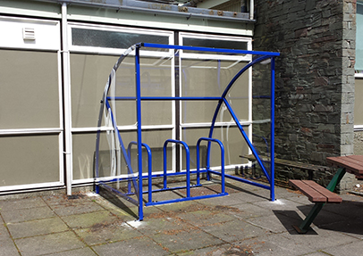 Cycle Shelter for Amberside Primary School