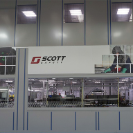 Industrial Partitioning Scheme at Scott Safety