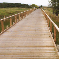 New JB Antislip Plus® timber boardwalk for the National Cycle Network