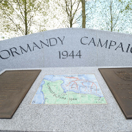 stoneCIRCLE supplies Normandy Campaign Memorial