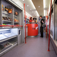 Altro flooring for Virgin trains