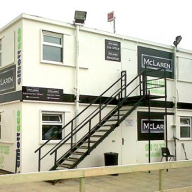 Portable Offices for McLaren Construction
