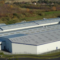 Tata Steel cladding systems for Jaffabox Ltd