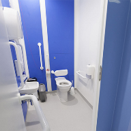 Altro wall cladding used in groundbreaking clinical design