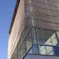 Architectural mesh for Bath University