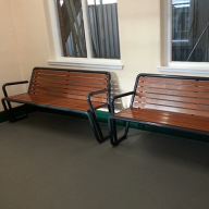 Erlau Bella Via Benches for Nottingham Station