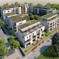 Structural thermal break units for Bahnstadt scheme