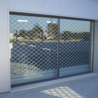 European security shutters for retail units