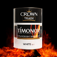 Step Up Safety With Crown Trade Timonox Flame Retardant Coatings
