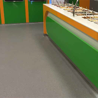 Altro flooring for Danish frozen yogurt store