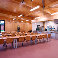 New Polysafe Verona PUR brightens up school dining experience