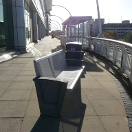 Erlau Benches for West Quay Shopping Centre