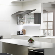 Polyrey Monochrom Compact® gives sleek finish to kitchens