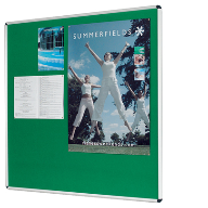 Resist-a-Flame® Fire Retardant Noticeboards from Metroplan