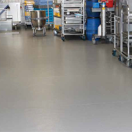 Altro flooring for hospital kitchen