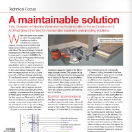 Newton Waterproofing feature in FC&A magazine