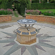 The Longitude Dial at Hatfield House