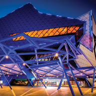 Perth Arena features Reynaers architectural systems