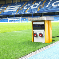 Pop Up Power Supplies specified at Chelsea Football Club
