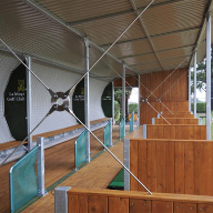 New Contemporary Driving Range At La Moye Golf Club