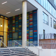 Alu-Timber curtain walling for UCL Academy