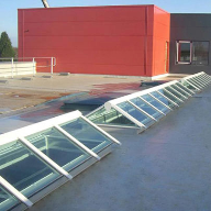 Em-Glaze skylights for Northampton University