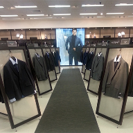 Architectural mesh for Marks & Spencer Display Frames