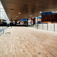 Junckers custom flooring for Maritime Museum