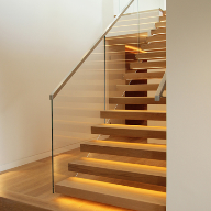 Cantilever Staircase for London penthouse apartment