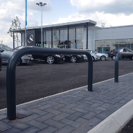 Access Control for new Mercedes Showroom