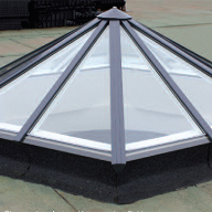 Whitesales rooflights for Cowes Enterprise College