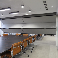 Global Law Firm Pillsbury chooses Skyfold partitions