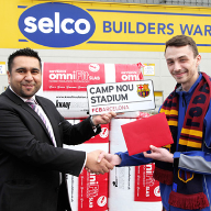 Knauf Insulation competition winners off to El Clasico