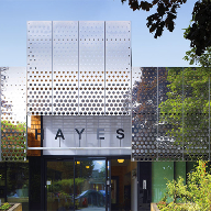 Proteus perforated panels for Hayes Primary School