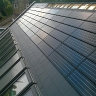 FAKRO roof windows and solar panels for self-build