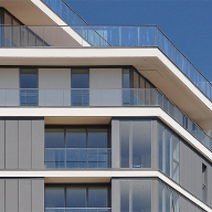 Proteus aluminium panels for Granite Wharf