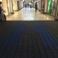 New matting for Harpur Centre