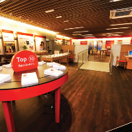 SimpLay loose lay tiles from Polyflor at Vodafone store