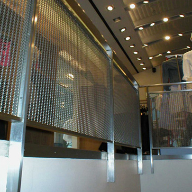 Architectural Mesh for Armani Exchange, New York